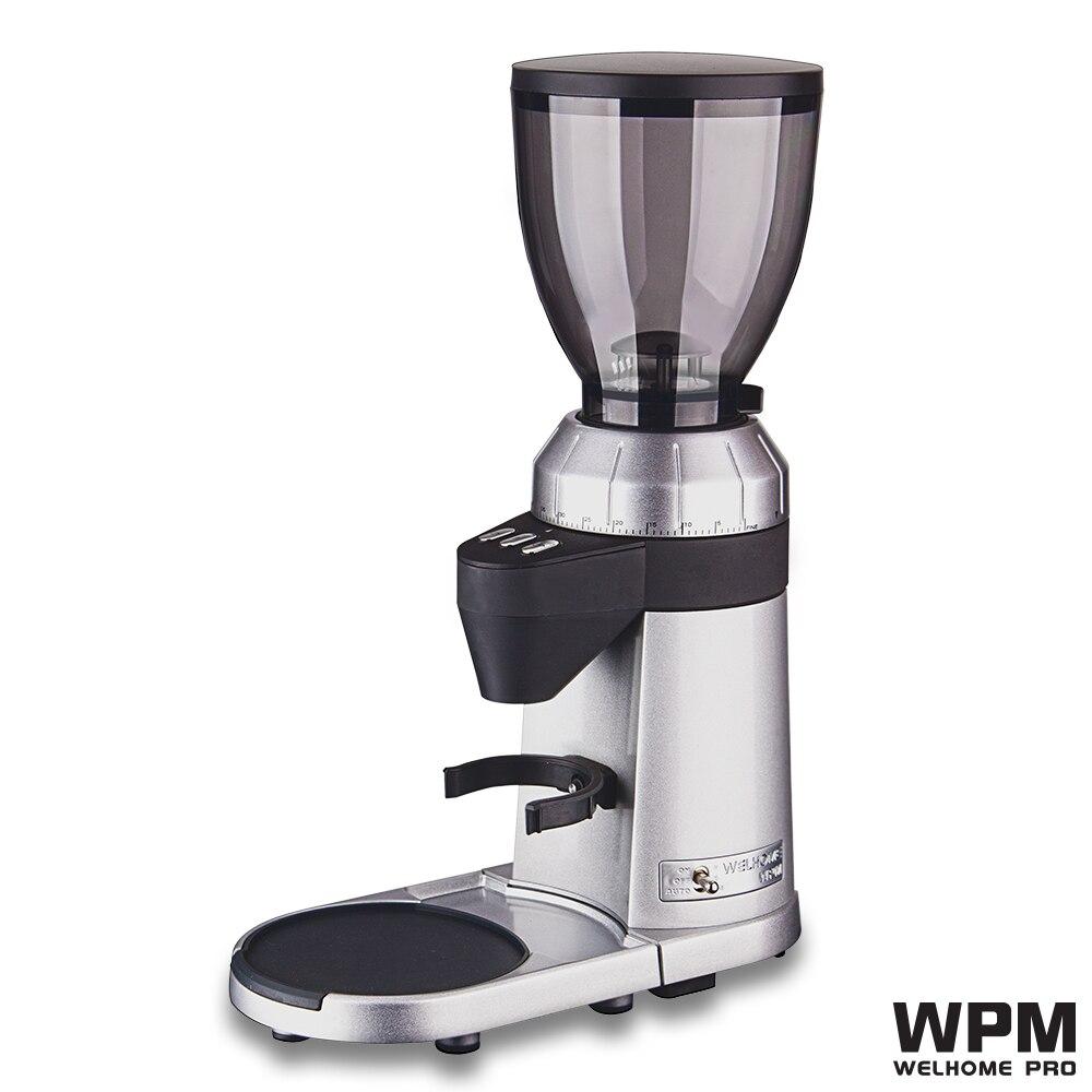 Welhome WPM zd 16 electro dosing/on Demand conical burrs espresso grinder/home electrical coffee grinder/Cafe grinder