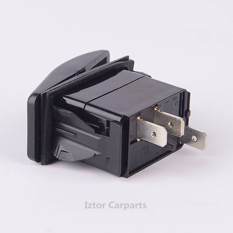 IZTOR 6 Black Plastic Rocker Switch Clip Panel Holder Housing ARB Carling Type