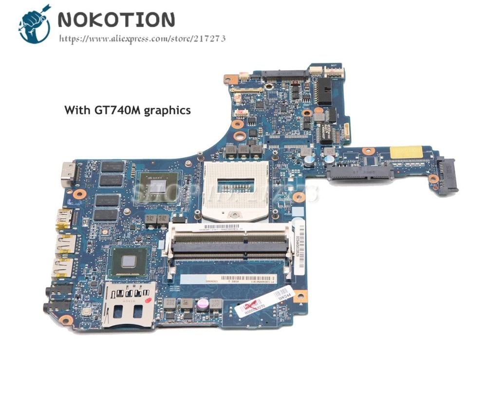 NOKOTION H000053270 VGSG Pour Toshiba Satellite S50 S50-A S55 S55-A L50 L50-A mère D'ordinateur Portable DDR3L GT740M Vidéo carte