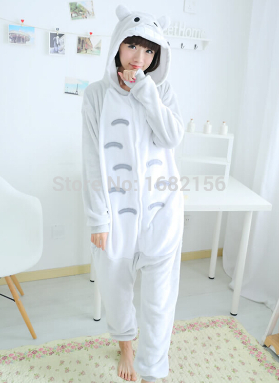 Reasonable Kigurumi Cartoon Totoro Onesie Unisex Cosplay Costumes Adult Children Pajamas Sleepwear Nightwear Jumpsuits Rompers Famous For High Quality Raw Materials And Great Variety Of Designs And Colors Full Range Of Specifications And Sizes