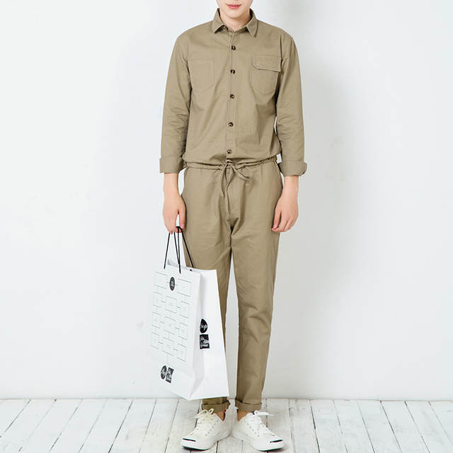 111ad05ec593 placeholder Men jumpsuits street hiphop overalls men s tooling harem trousers  jumpsuits fashion trend long sleeve casual pant
