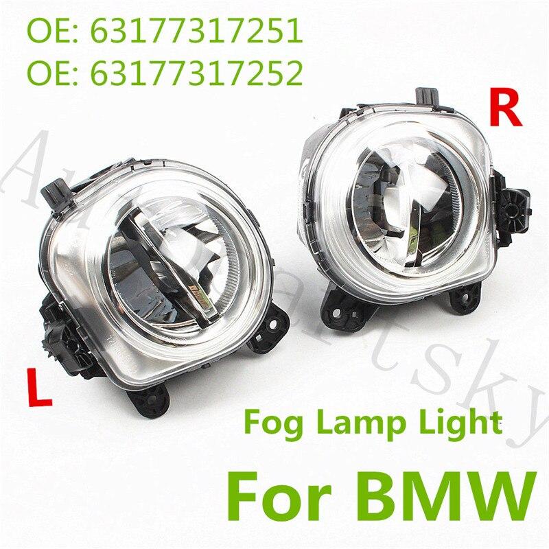 [ Set of 2PCS ] OEM New 63177317251 63177317252 LED Fog Light Lamps L R LH RH Lightings for BMW X3 F25 X4 F26 X5 F15 F85 X6 F16