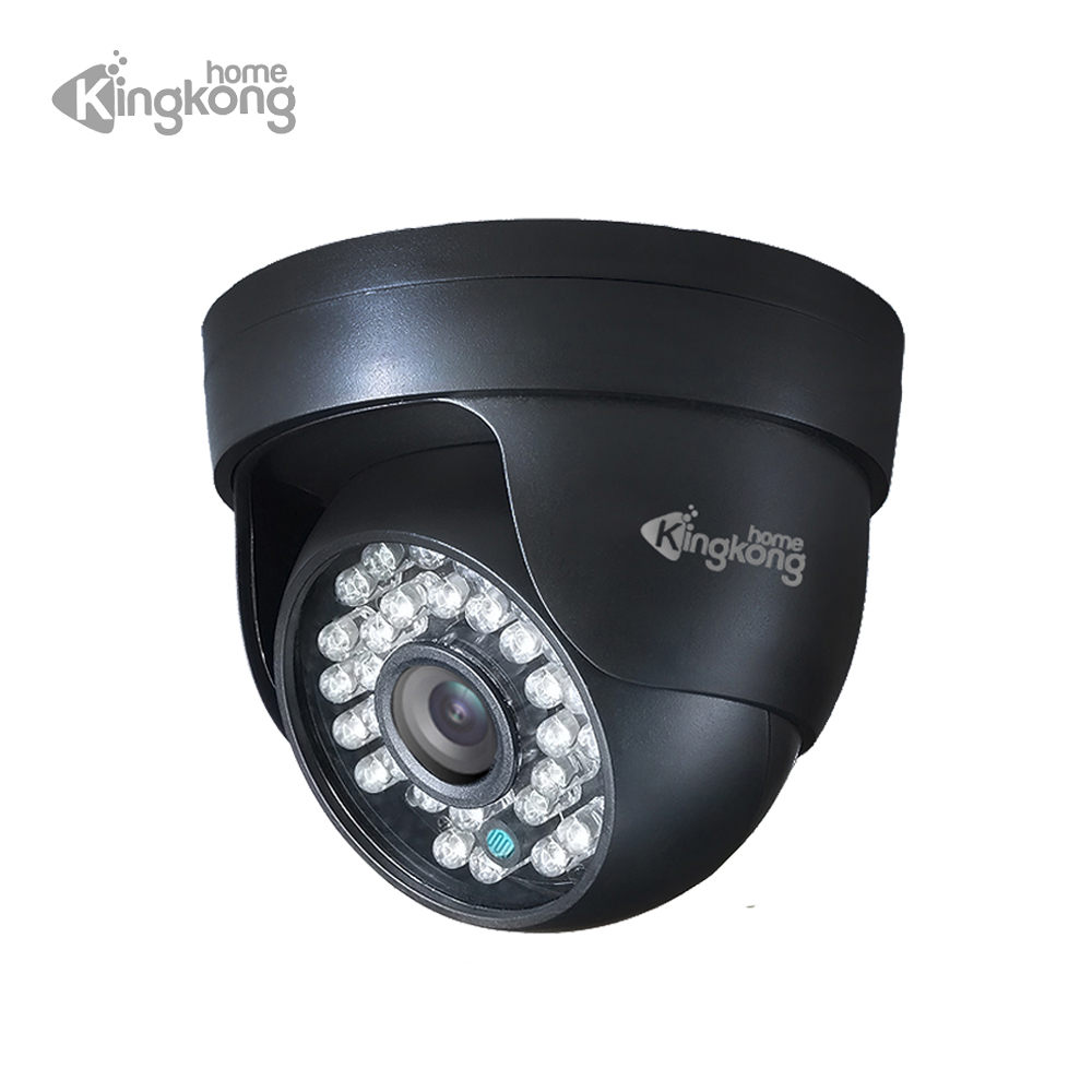 цена на Kingkonghome HD 1080P/720P IP Camera Security Indoor Dome Cameras Day/Night Vision 30 IR Led CCTV Surveillance Home Video Cam IP