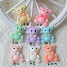 Little Bear Resin Accessories Mobile Phone Shell DIY Material Refrigerator Stickers Home Decoration