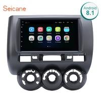 Seicane Autoradio 9 Android 8.1 Car GPS Navi for HONDA Jazz(Manual AC,RHD) 2002 2008 Radio Multimedia Player with Mirror Link