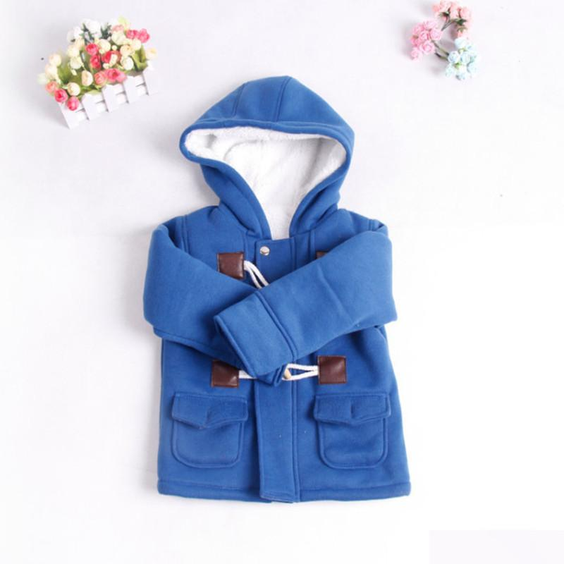 New 2017 baby Boy Clothes Children outerwear coat Fashion kids jackets for Boy girls Winter jacket Warm hooded children clothing галогенная лампа philips hb4 p22d blue vision ultra