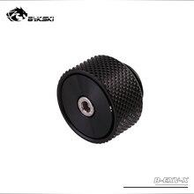 BYKSKI G1/4 ''отпустите воздушную заглушку латунный ручной выпускной клапан воздушный клапан Герметичный замок для системы водяного охлаждения