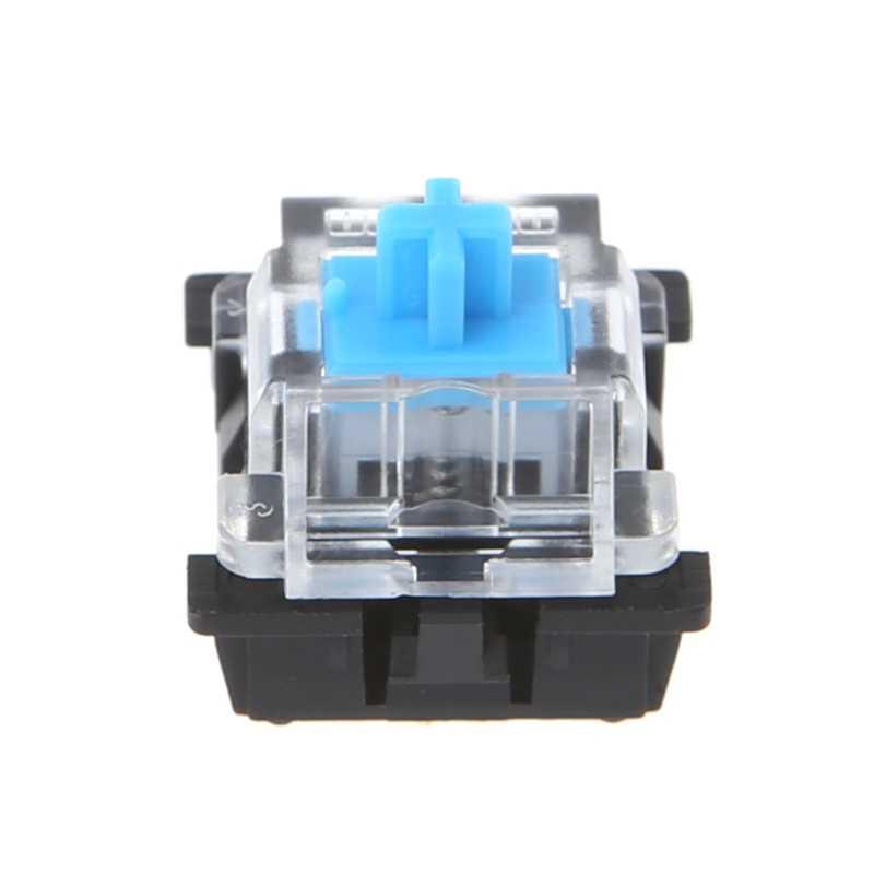 10 Pcs 3-контактный механический переключатель клавиатуры синего цвета для Cherry MX прибор для проверки Клавиатуры Комплект