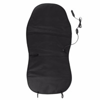 Warm Polyester Car Heated Seat Cover Warmer Black Seat Heating Cushion DC12V Seat Cushion Heating Cover