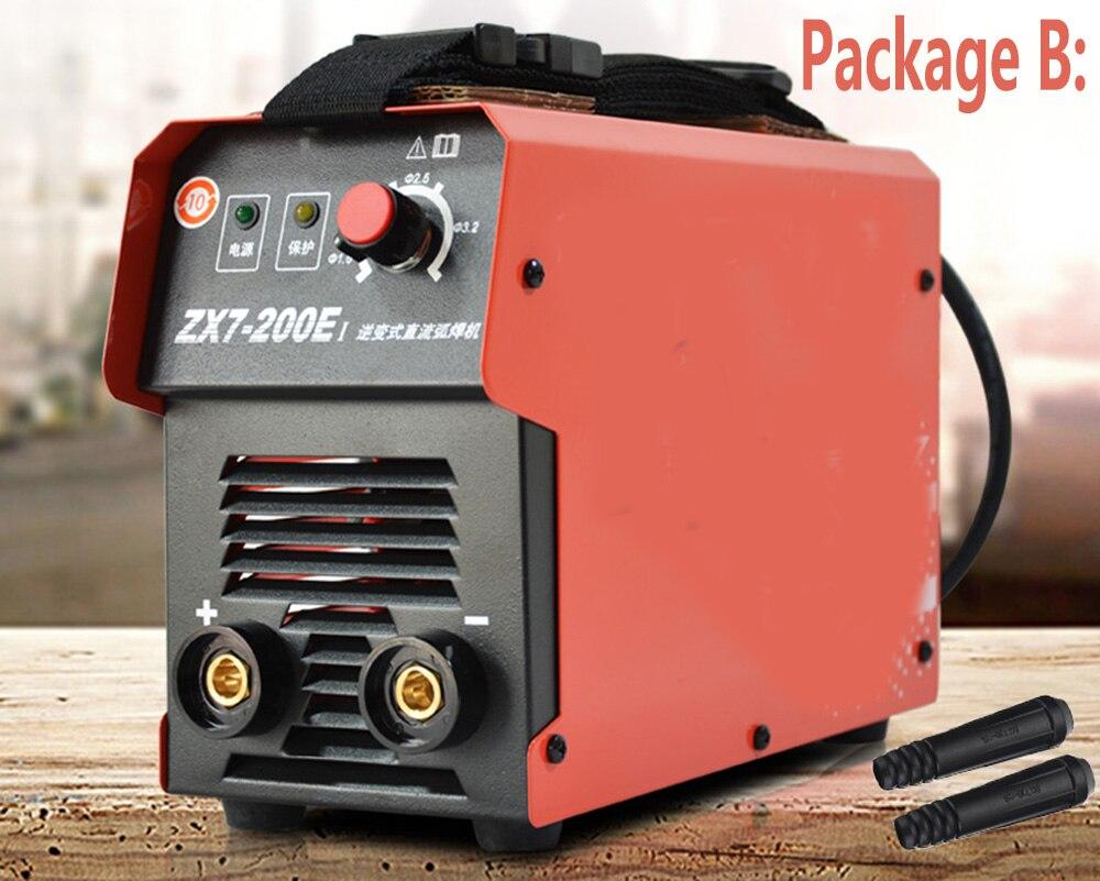 Бесплатная доставка IGBT ARC 10-200A сварочный инвертор сварочный аппарат IGBT MMA ARC ZX7 сварочный аппарат легкий сварочный электрод дуговой сварочны...