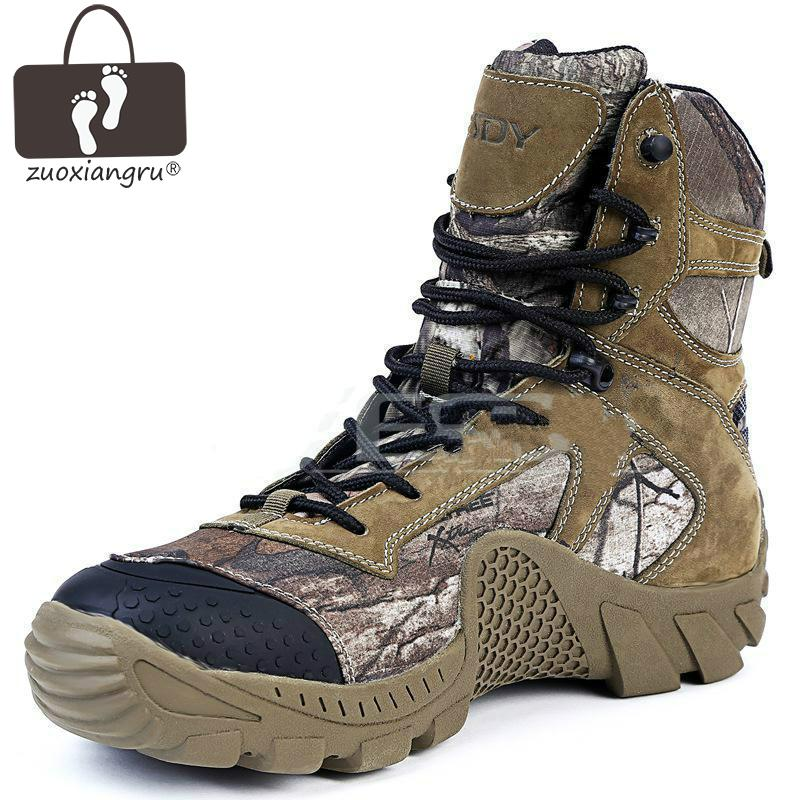 Outdoor Nylon Desert Boots The U.S Military Assault Tactical Boots Breathable Wear Slip Men Casual Travel Work Boot Comfortable