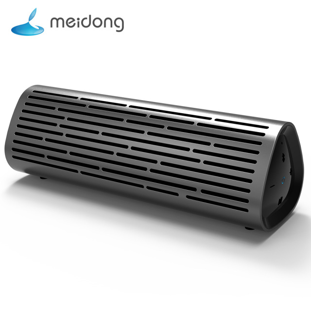 Meidong MD-2110 Portable Wireless Bluetooth Speaker 10W Rich Deep Bass Loudspeaker Waterproof IPX4 Built-in mic 10-Hour Playtime