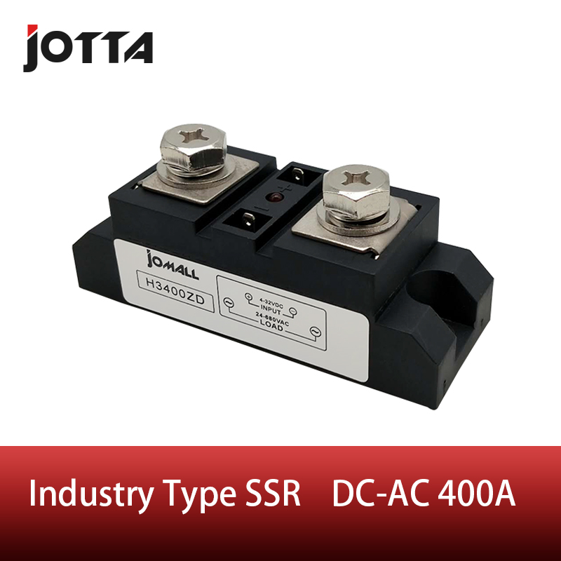 400A Industrial SSR Single-phase Input 4-32VDC;Output 24-680VAC solid state relay 400a400A Industrial SSR Single-phase Input 4-32VDC;Output 24-680VAC solid state relay 400a
