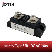 SSR-400A Industrial SSR Single-phase Solid State Relay 400A Input 3-32VDC;Output 440AC