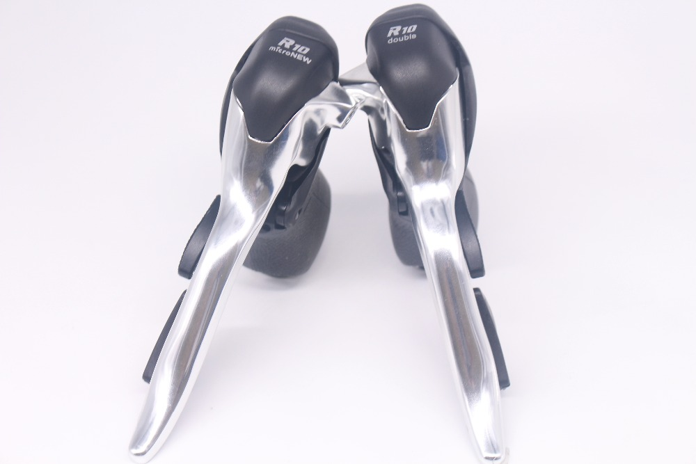 Micronew Road Bike STI Shifters, 2 x 10 speed,Compatible for Shimano 105 STI ST-5700 4600 Shifters Groupset microshift road bike shifters 2 10 compatible for shimano 105 5700 tiagra 4600 10 speed double sti lever set