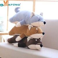 BOOKFONG 1PC Amuse Dog Plush Toy Shiba Inu Toy High Quality Stuffed Loyal Pet Pillow Toy