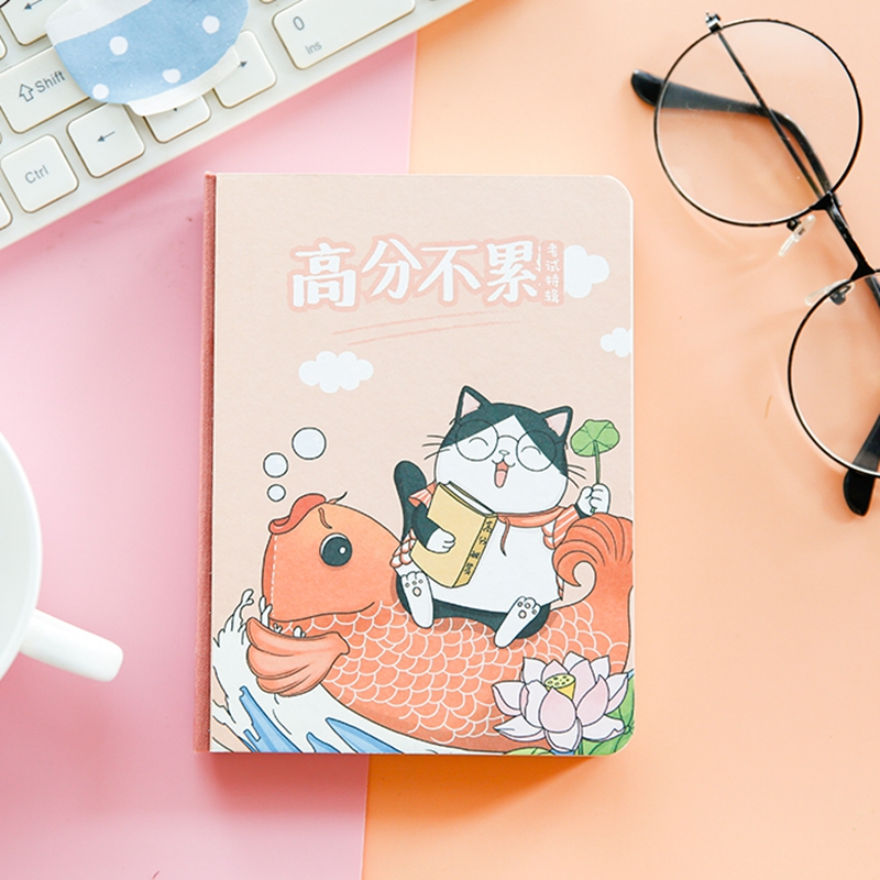 Cartoon Cat Creative Korean Real Life Series Cute Notebook Cartoon