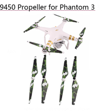 4PCS 9450 Self-locking Propeller for DJI Phantom 3 Phantom 2 3A 3P 3S Camera Drone Parts Replacement Props Quick Release Blades стоимость