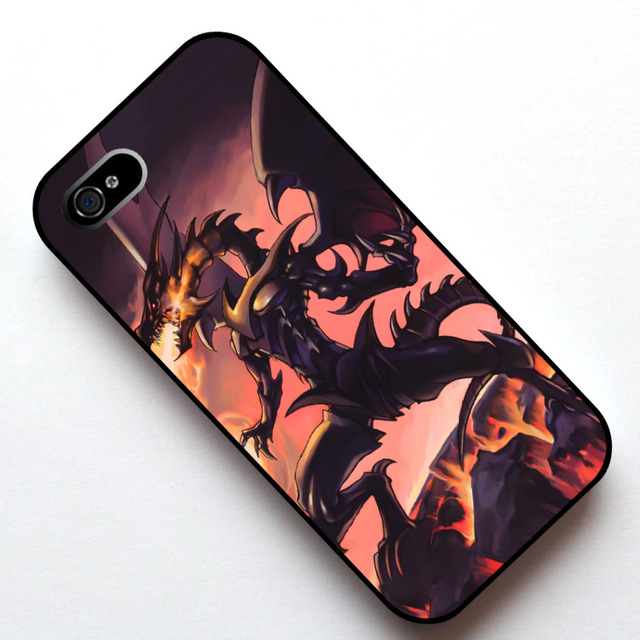 Yu Gi Oh Duel Monsters Red Eyes Black Dragon Case Cover