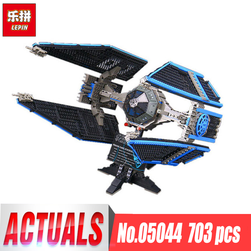 Lepin 05044 Star Wars Stunning Model Limited Edition The TIE Interceptor Building Blocks Bricks Toys legoINGlys 7181 Boys Gifts star wars boys black