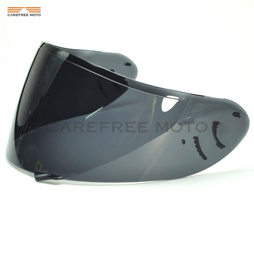 Dark Smoke Motorcycle Helmet Visor Lens Full Face Shield Case for SHOEI CW1 CW 1 X