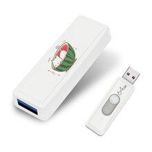 Personalizado Flash Drive 128 GB Pendrive Empurrar e Puxar 64GB Pen Drives U Vara 128 GB USB Flash Drives para o Presente de Aniversário de Casamento