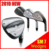 SM7 Golf Wedges SM7 Wedges Black/ Silver 50 52 54 56 58 60 Degree High Quality Golf Clubs Support Right Handed