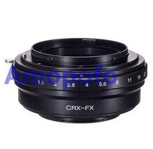 Amopofo, CRX-FX Adaptador Contarex Lente para Fujifilm X-Pro1 X-E1-E2 x X X-M1-A1 XT1 X-T2
