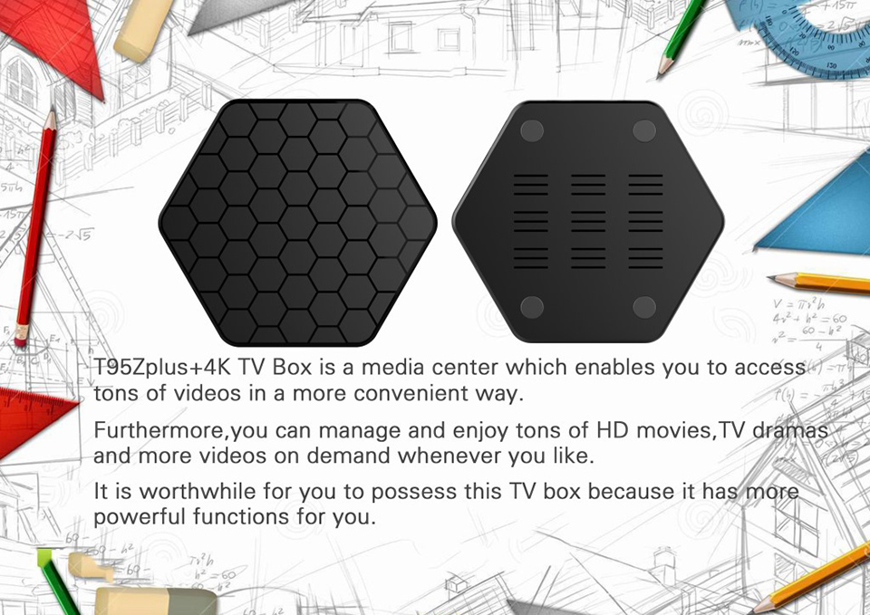 Android TV Receiver SUBTV Subscription T95Z Plus 3GB 32GB S912 Dual-Band WiFi Arabic France Italia Turkish Portugal Code IPTV (3)