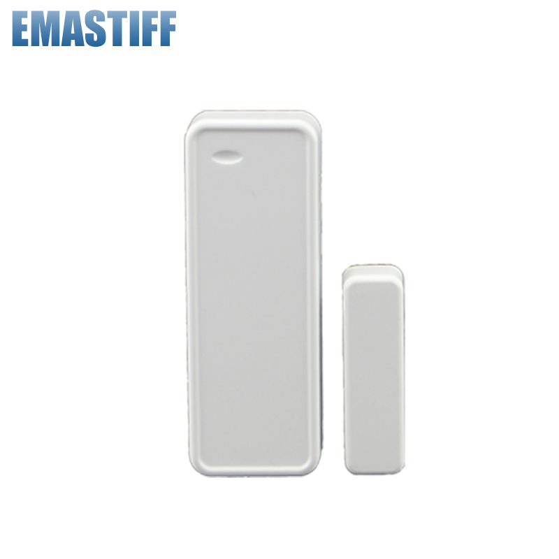 Free shipping Wireless Intelligent Door/Window Sensor Contact For G90B Security GSM Wifi Alarm System 433MHZ wifi gsm home security alarm system ios android control rfid keypad 433mhz wireless intelligent door window sensor pir sensor