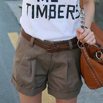 Hot Sale woman CHEAP shorts hot loose shorts fashion lady casual straight shorts DY-G507