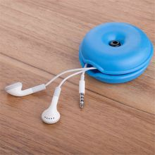 Cute Cable Winder Organizer Kawaii Stationary Korean Desk Set Earphone Protector USB Cable Line Wire Holder Desk Accessories
