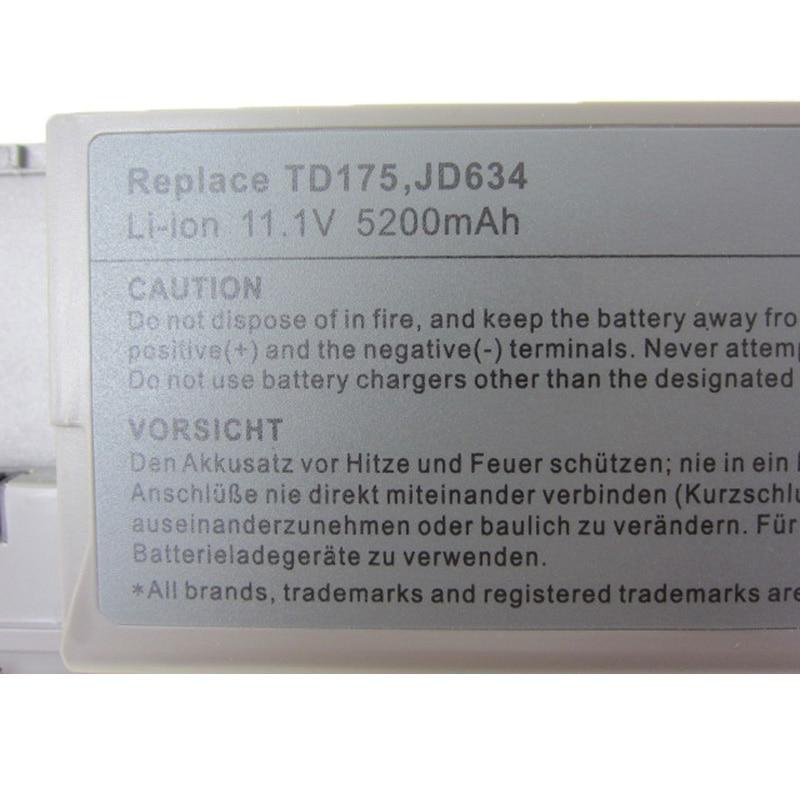 Аккумулятор для ноутбука HSW Для Dell D620 - Аксессуары для ноутбуков - Фотография 5