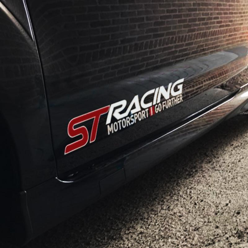 Car ABS Chrome Trim Handbrake Paillette//ST Decoration Stickers Case for Fiesta for Ecosport Auto Accessories