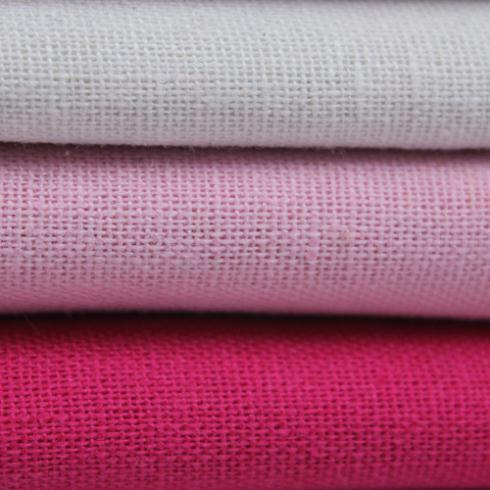 Plain Coloured Linen Linen Pure Color Cotton Linen Fabrics Book A