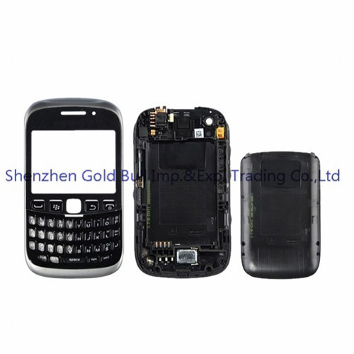 For BlackBerry Curve 9320 9315 New Full Complete Mobile Phone Housing Cover Case+Keypad(No joystick) +Free Tools, Free shipping