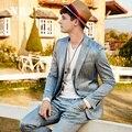 Бренд мужской Clothing2016New Прибытие мужчин формальный свадебный костюм куртка цвета slim fit однобортный костюм роскошный этап костюм мужчины
