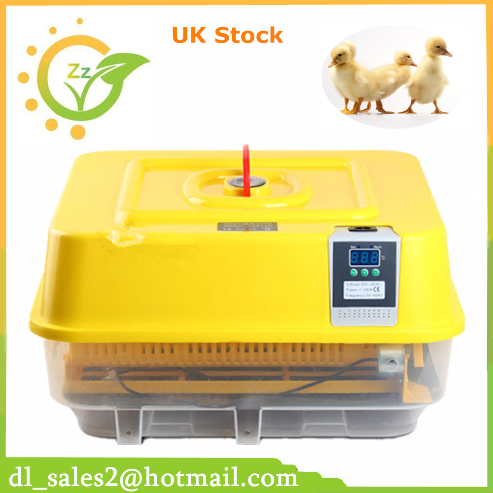 Digital egg incubator full automatic egg incubator for 39 chicken eggs adjustable egg tray new 39 eggs full automatic incubator