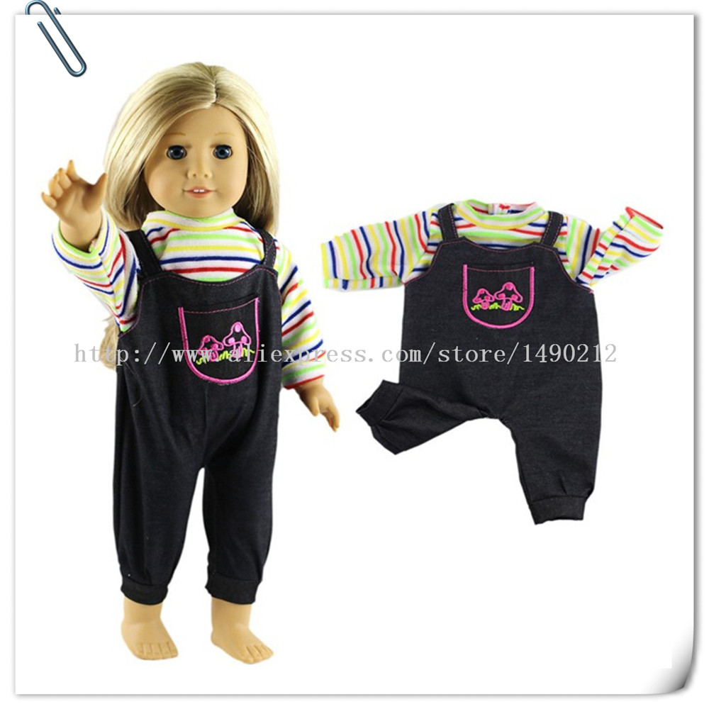 1pcs/set Winter Dress For For American Girl Doll ,Clothes For 18 Inch Doll , Christmas Girl's Gift Aug-15 fashion 45cm american girl doll dress clothes for18inch american girl doll accessories aug 9