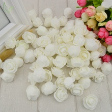 100pcs PE Foam fake flower roses
