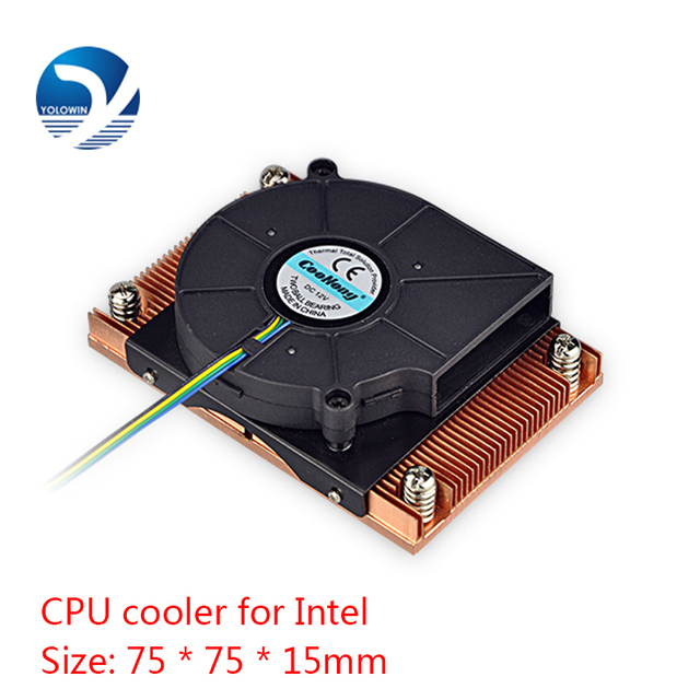 Active cooling Radiator Computer Cooling Products server CPU cooler Computer radiator Copper heatsink for Intel D9 01