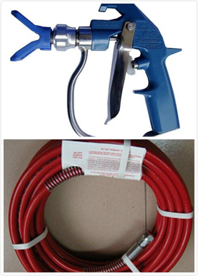 Aftermarket 20m high pressure hose with Heavy duty textrue gun 4-finger  WPR 4000Psi