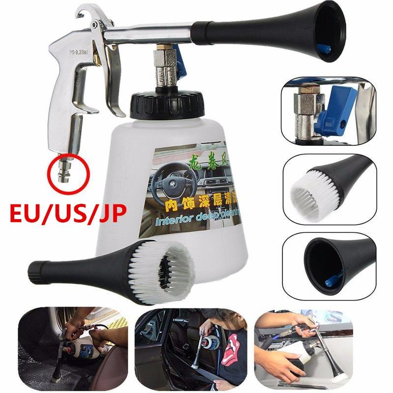 Car Cleaning Gun Auto Interior Dry Deep Clean Washing Gun For Cockpit Care High Quality Car Air Operated Wash Equipment