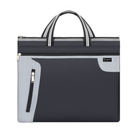 A4 portable canvas file bag, customized file bag and briefcase for conference and training, logo printing advertisement