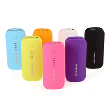 YELLYOUTH Feather Shape 5600mAh Power Bank Backup Portable External Battery Charger Powerbank For All Mobile Phone Universal