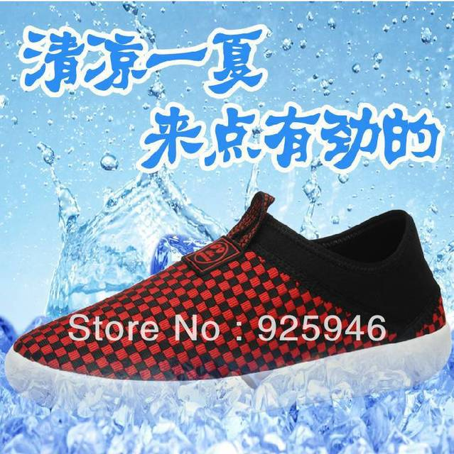Free shipping 2013 tidal current male casual popular breathable  lazy hand-knitting shoes