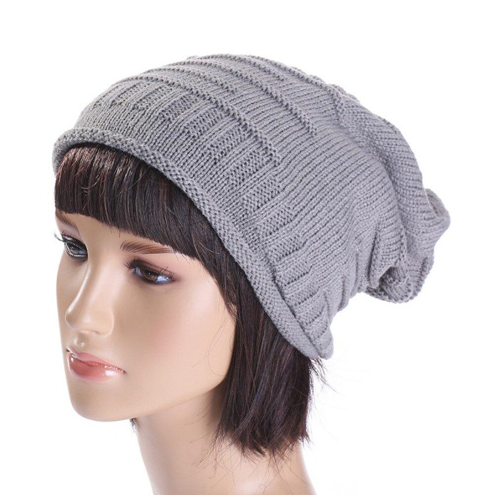 Soft Knit Hat Warm Winter Unisex Warm Fall   Skullies     Beanie   Hip-hop   Beanie   Solid Cap for Man & Woman