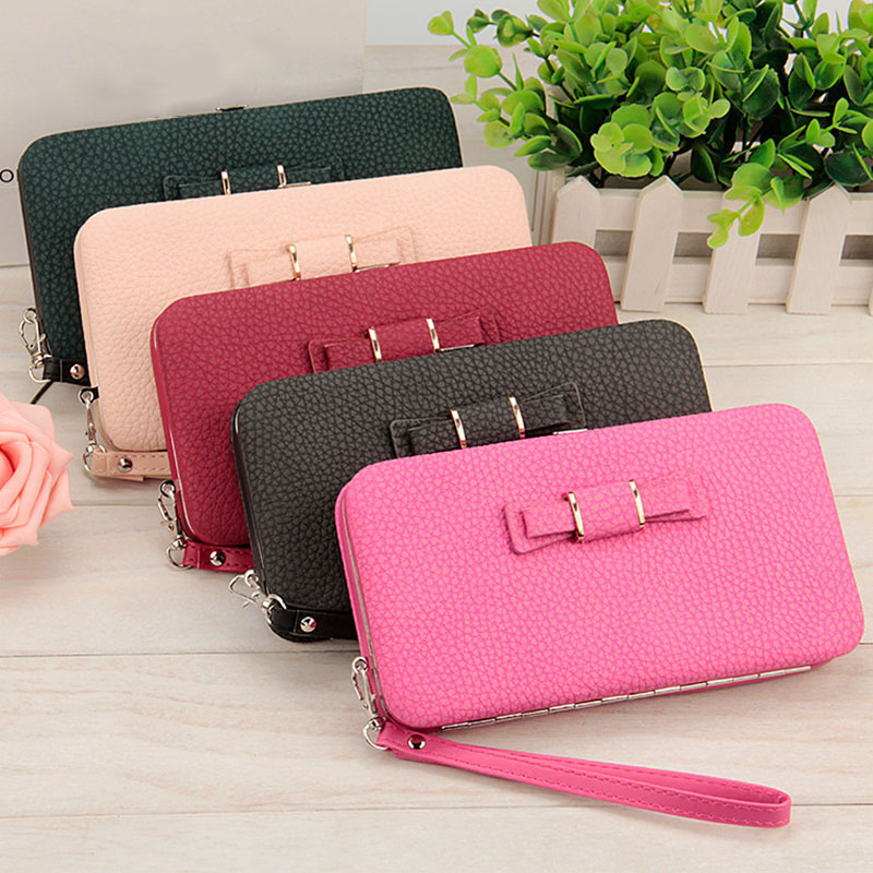 Purse Women Wallets Card Holder Women Coin Clutch Female Famous Brand Designer Long Wallet Simple Women Purse Lady Clutch Purses women leather wallets v letter design long clutches coin purse card holder female fashion clutch wallet bolsos mujer brand