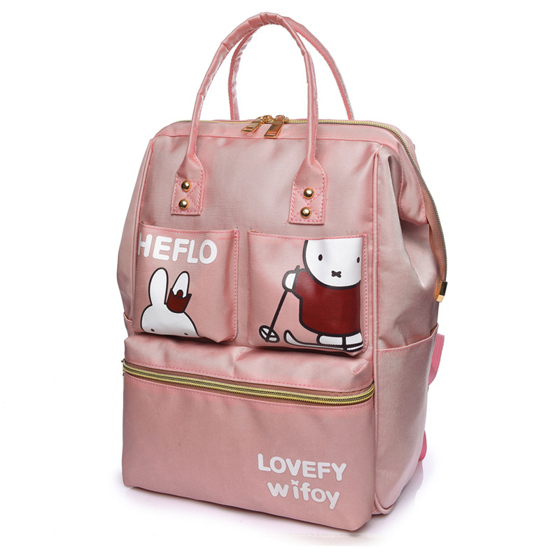 Waterproof Baby Diaper Bag Cute Baby Nappy Bag Backpack Cartoon Maternity Bags Baby Care Cute Changing Bag for Stroller new arrive baby diaper bag cute baby nappy bag waterproof backpack maternity bags baby care cute changing bag backpack