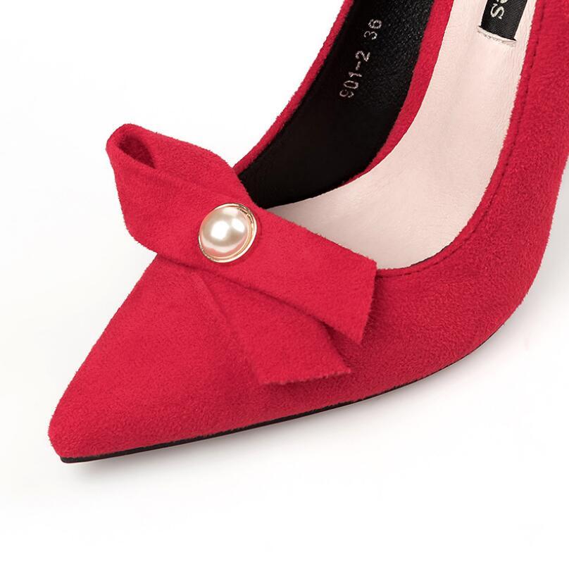 Zapatos Heels De Black Heels Pearl Grueso {d Heels Para Gamuza 2018 Dedo Alto Cuadrado Henlu} Señaló gray Tacón Heels Pie amp; Las Bombas red khaki Mujeres Del Pajarita Mujer BxRRqSYXw